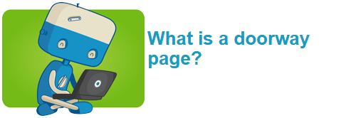 What is a doorway page?