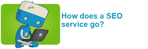 How does a SEO service go?