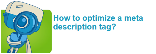 How to optimize a meta description tag?