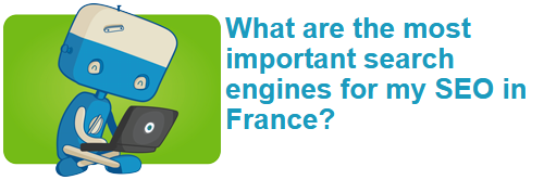 What are the most important search engines for my SEO in France?